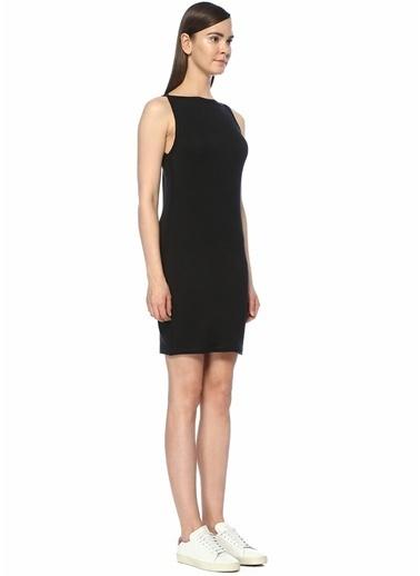 Rag&Bone Kayık Yaka Mini Elbise Siyah